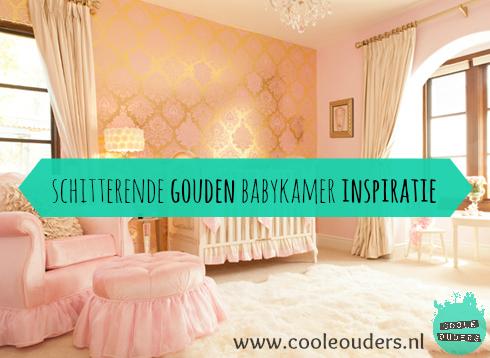 schitterende gouden babykamer inspiratie - coole ouders, Deco ideeën