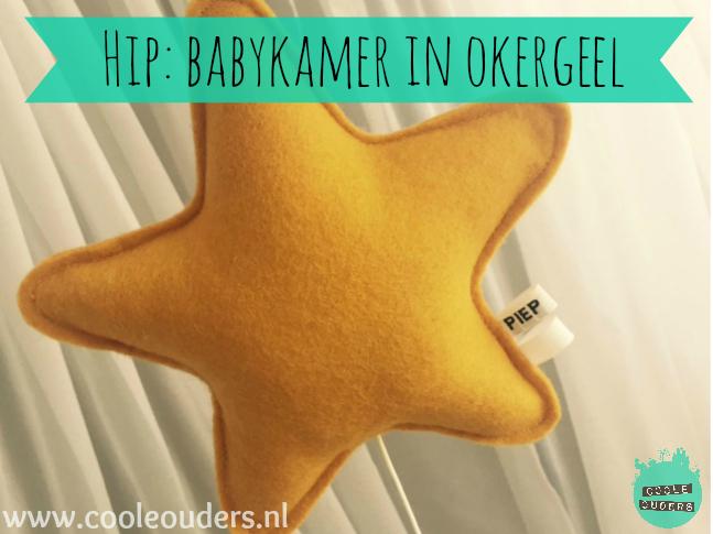 hip: babykamer in okergeel, Deco ideeën